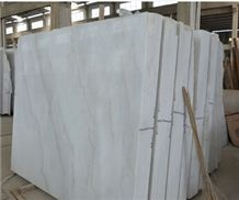 White Marble with Greenish Slabs, White Vein Marble Slabs & Tiles