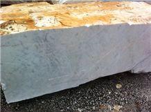 Bianco Carrara White Marble Block, Italy White Marble