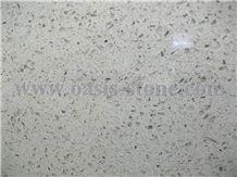 Grey Galaxy Quartz Stone Slab & Tile