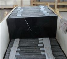 Black Marquina,China Marquina,China Nero Marquina,Negro Bilbao,Black Markina,China Black Marble Tiles, Floor and Wall Tiles, Flooring Tile, Polished Panels