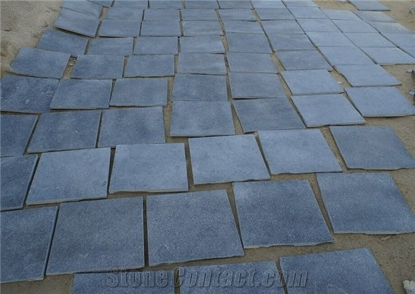 Bluestone Tile Honed And Sandblast Finished Floor Coverings Flooring China Grey Stone Special Finishes Available