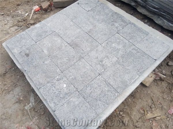 Wellest Blue Stone Tile,Flamed Finished Tile,China Grey Bluestone