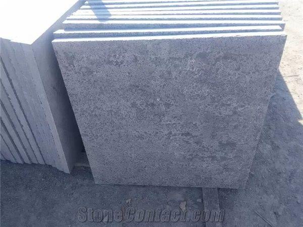 Wellest Blue Stone Tilehoned Finsh Hammered Edge Tilechina Grey