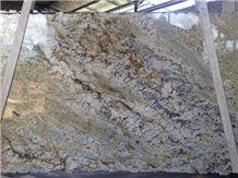 Sienna Bordeaux Granite Slabs, Brazil Beige Granite
