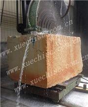China Pingshan Baipo Yellow Granite Stone Blocks