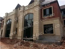 Yellow Baipo Pingshan Granite Building & Walling,China Yellow Granite