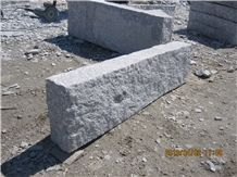 G341 Granite Hand Made Natural Split Kerbstone