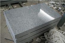 Light Gray G633 Granite American Marker Monument Design
