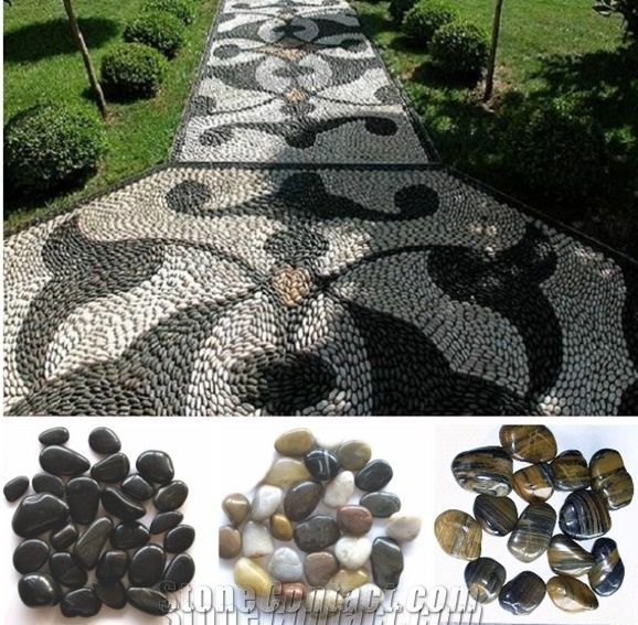 Landscaping Pebble Stone Natural Multicolor Polished River