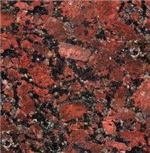 Rosso Korall Granite Slabs & Tiles, Ukraine Red Granite