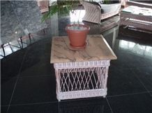 Monsoon Pearl Marble Table Top