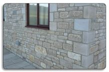 Purbeck Coursed & Tumbled Walling Stone
