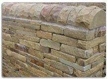 York Stone Cropped Walling Stone