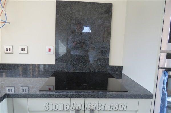 Steel Grey Granite Kitchen Countertop
