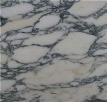 Arabescato Marble Slabs & Tiles, Italy White Marble