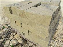 Texas Tan Sandstone Drystack Boulders