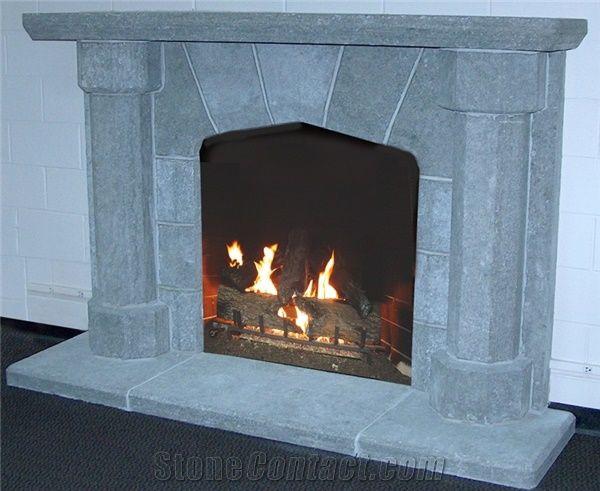 limestone fireplace surround wood mantle frontier gray limestone fireplace surround from united states