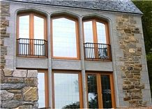 Frontier Gray Window Surrounds - Thermalled Finish