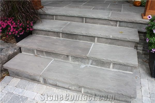 Prospect Sandstone Sawn Chipped Edge Deck Stair Tiles From