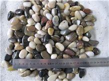 High Polished Multicolor Pebbles, Natural Pebbles