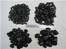 Polished Black Pebbles,A Grade Natural Pebbles