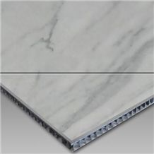 White Marble Surface Aluminum Honeycomb Panel