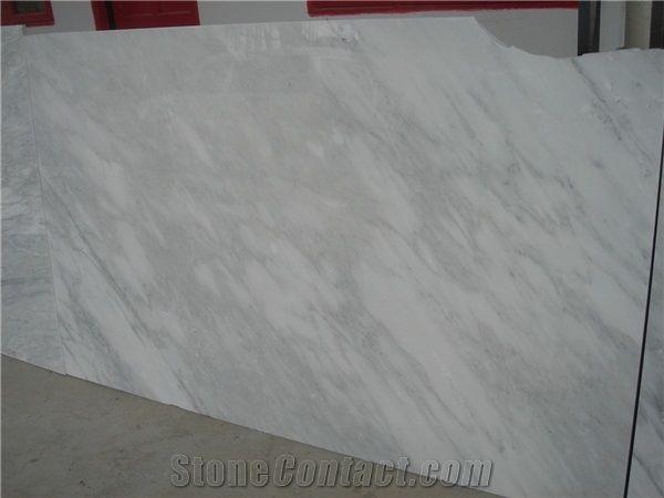 White Marble Honed Machine Cutting