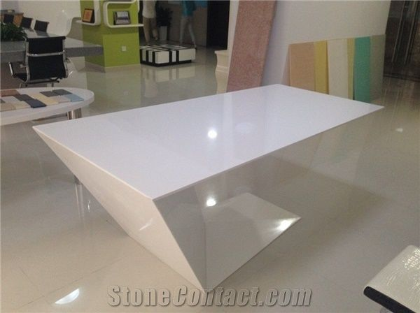 Merveilleux Cool New Design Office Desk Pure Acrylic Solid Surface Furniture