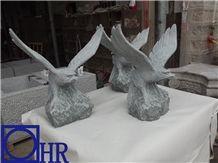 G612 Granite Large Eagle Statues