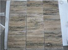 Honed Silver Grey Travertine Floor Tiles, Siena Silver Grey Travertine