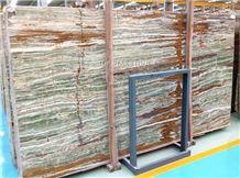 Onice Smeraldo Onyx Slabs & Tiles,Pakistan Bamboo Green Onyx