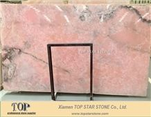 Purple Pink Onyx Wall Slabs & Tiles, Naghadeh Pink Onyx Slabs & Tiles