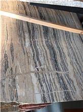 White Black Wood Lines Traonyx Slabs & Tiles, Iran Grey Onyx