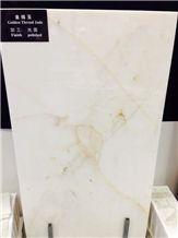 Golden Thread Jade,White Marble Tiles & Slabs