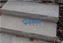Brown Sandstone/Brown Wave/Brown Stone Stairs & Steps
