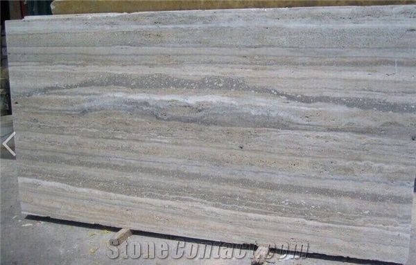Italy Ocean Blue Travertine Siena Silver Travertine
