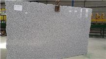 Blanco Perla Granite Slabs & Tiles, White Granite Slabs, Granito Blanco Perla