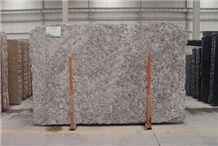 Aran White Granite Slab, Brazil Grey Granite