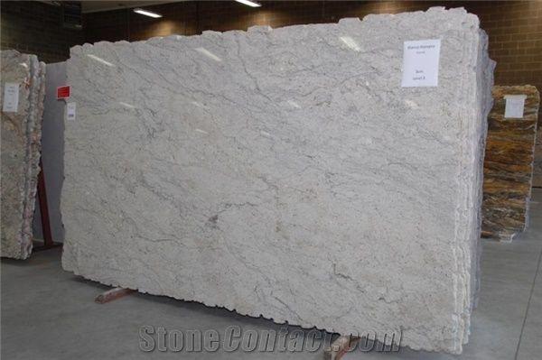 Bianco Romano Granite Slabs Tiles