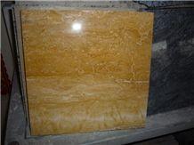 Golden Travertine Tiles and Slabs