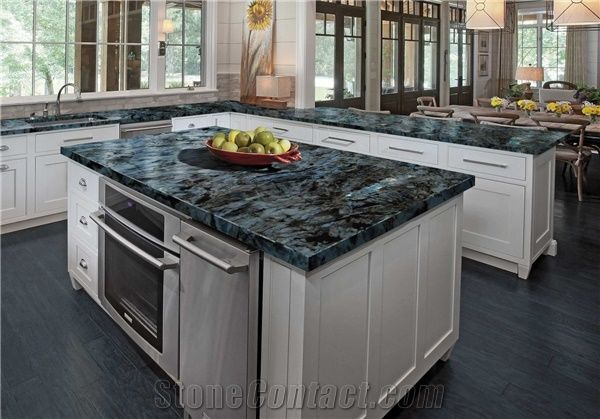 Lemurian Blue Granite Countertop