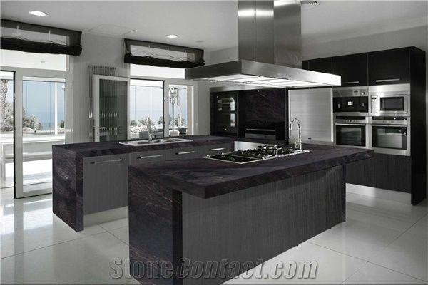 London Black Granite Countertop Countertops