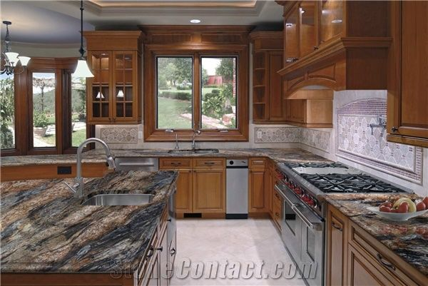 Magma Gold Granite Countertop From Italy 249612