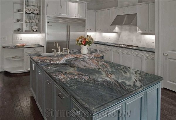 Red Glitter Granite Countertop From Italy Stonecontact Com