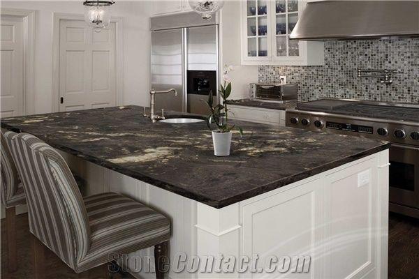 Titanium Granite Countertop From Italy Stonecontact Com