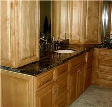 Green Jadeite Granite Bathroom Vanity Top