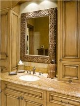 Ivory Cream Granite Bathroom Vanity Top