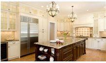 Crema Bordeaux Granite Kitchen Countertop
