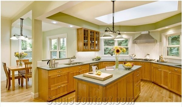 Green Slate Kitchen Countertop From United States
