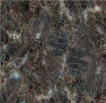 Spectrolite Brown Granite Tiles, Finland Brown Granite
